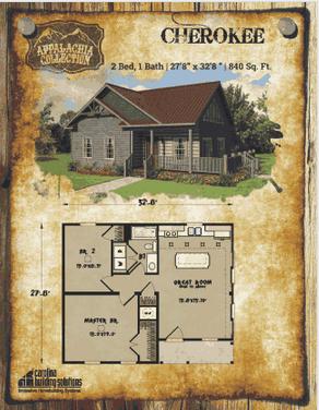 Cherokee NC Custom Modulars Sustainable home, Small