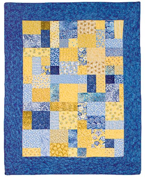 Yellow Brick Road Quilt Pattern Free Pertaining To Yellow Brick Road