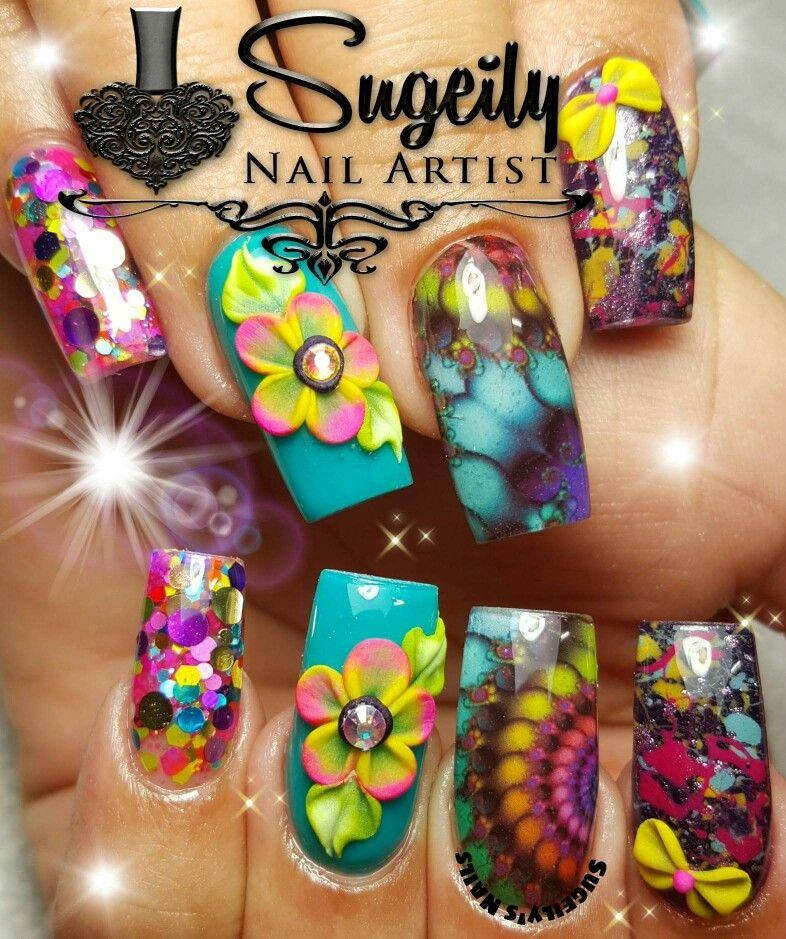 NailArt #airbrush style artistry. Beautiful nails! | Epic Nails ...