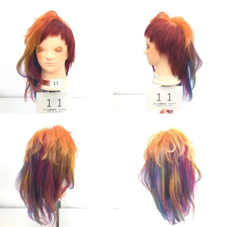 ヘアカラーコンテスト 松山 愛媛 美容室 美容師 といえば