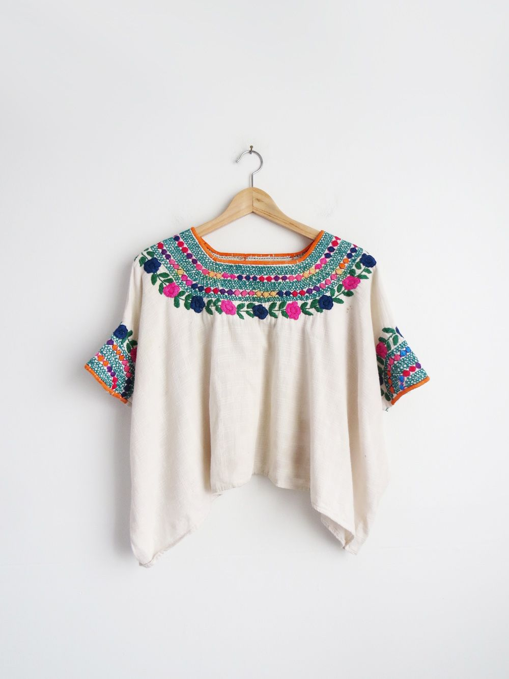 b8cbd95f0 Antigua Cotton Huipil // Guatemalan Vintage Huipil | Happies ...