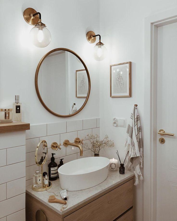 Photo of 60 Gorgeous Bathroom Countertops Ideas That Make Your Bathroom Look Elegant #bathroomdecor #b…
