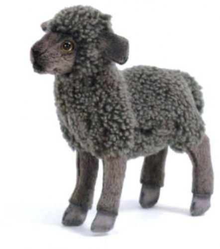 Plush Soft Toy Black Sheep By Hansa 28cm 3454 In Toys Games Soft