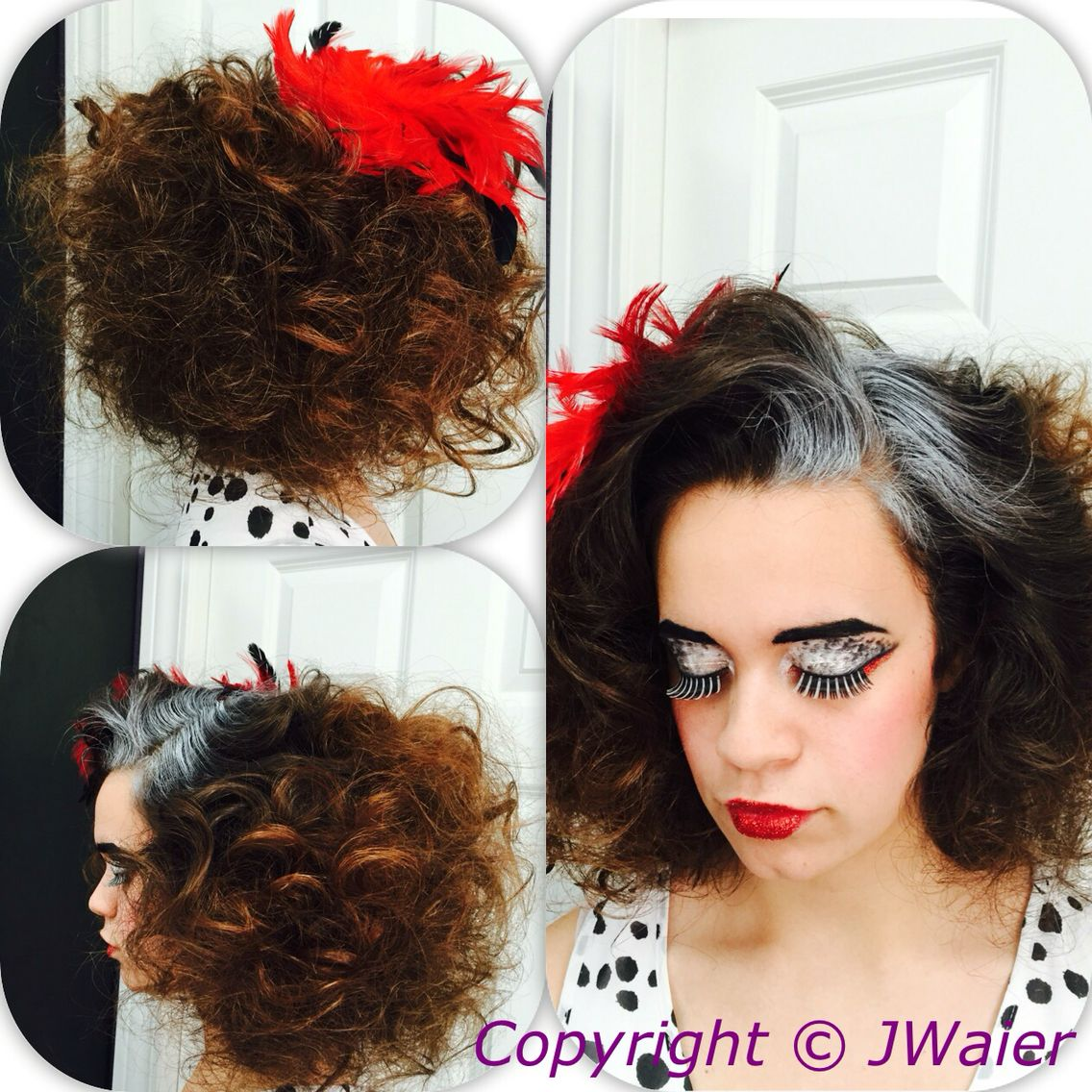 Cruella deville inspired shoot for akpvogueshoot modsquad hair