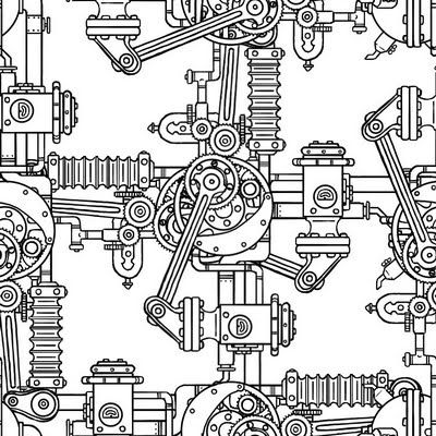 machine steunk printables steunk fabric
