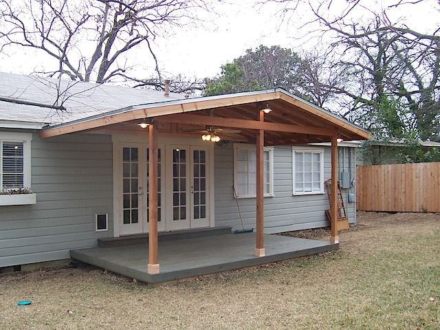 Attach A Roof To An Existing Added Over Deck