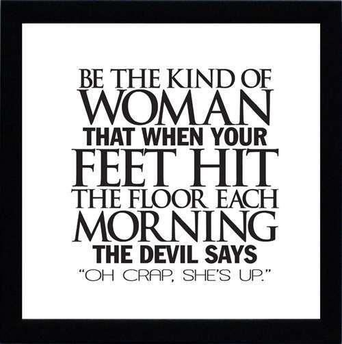 Inspiration: The Kind Of Woman