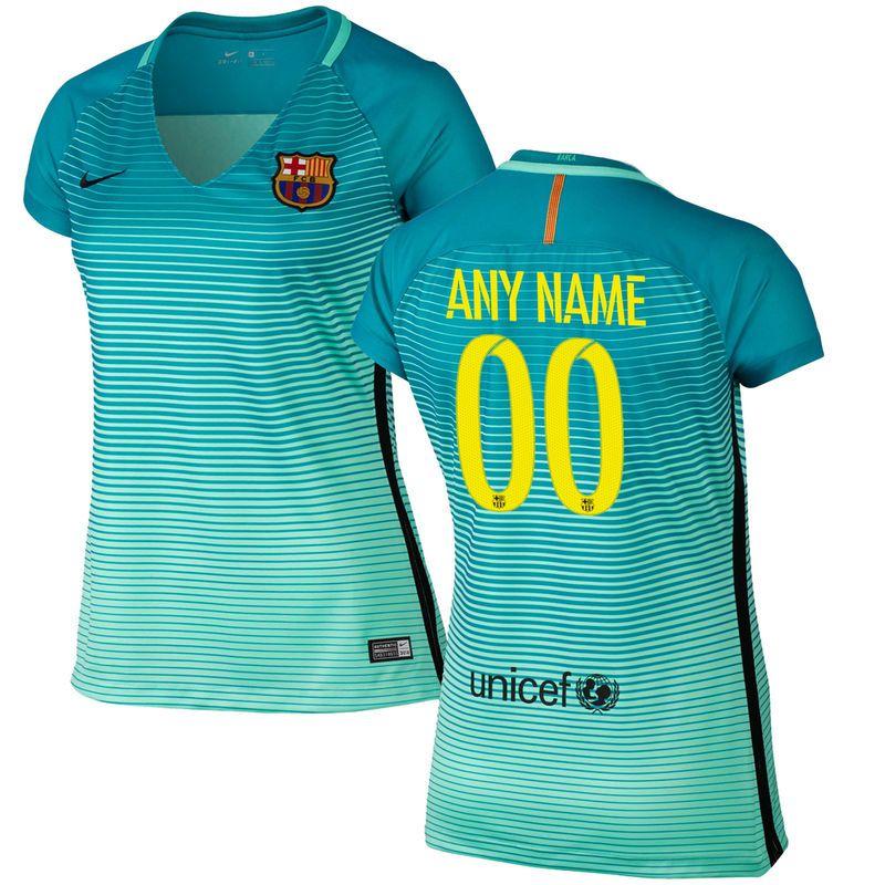 best website 808d4 04976 Barcelona Nike Women's Custom Alternate Replica Jersey ...