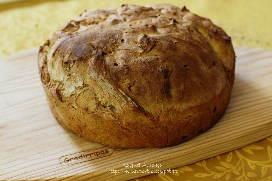no knead bread/pão sem sovar