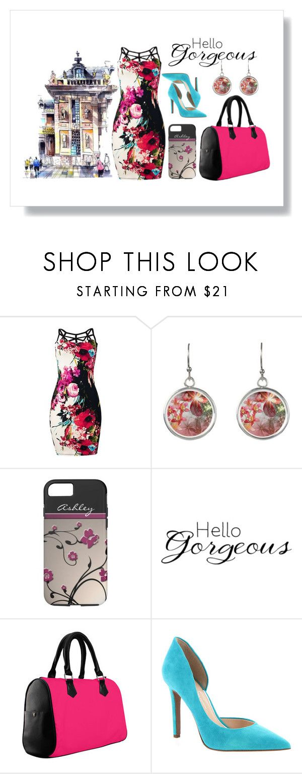 Gorgeous Floral Dress for a Night on the City by colormegirly on Polyvore featuring Jessica Simpson, WALL, floralprint, fashionset, polyvorefashion and polyvoreset - floral, flower, flowers, dress, handbags, accessories, accessory, outfit, fashion, fashionista, iPhone, iPhones, iPhone 7