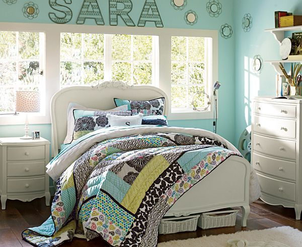 Room Design Ideas For Teenage Girls Round Mirrors Room And Walls - 55 room design ideas for teenage girls