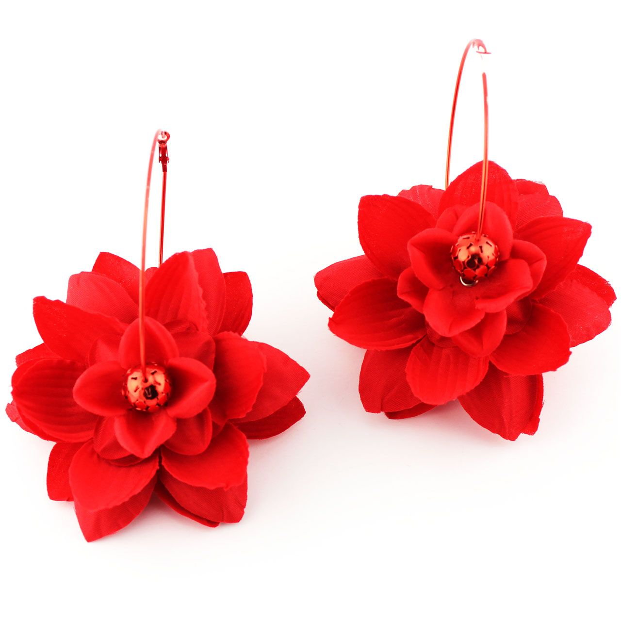 Basketball Wives Red Flower #earrings Ignite Your Inner Fashionista With  These Basketball Wives Inspired