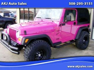 Pink Jeep For Sale Pink Jeep Pink Jeep Wrangler Girly Car