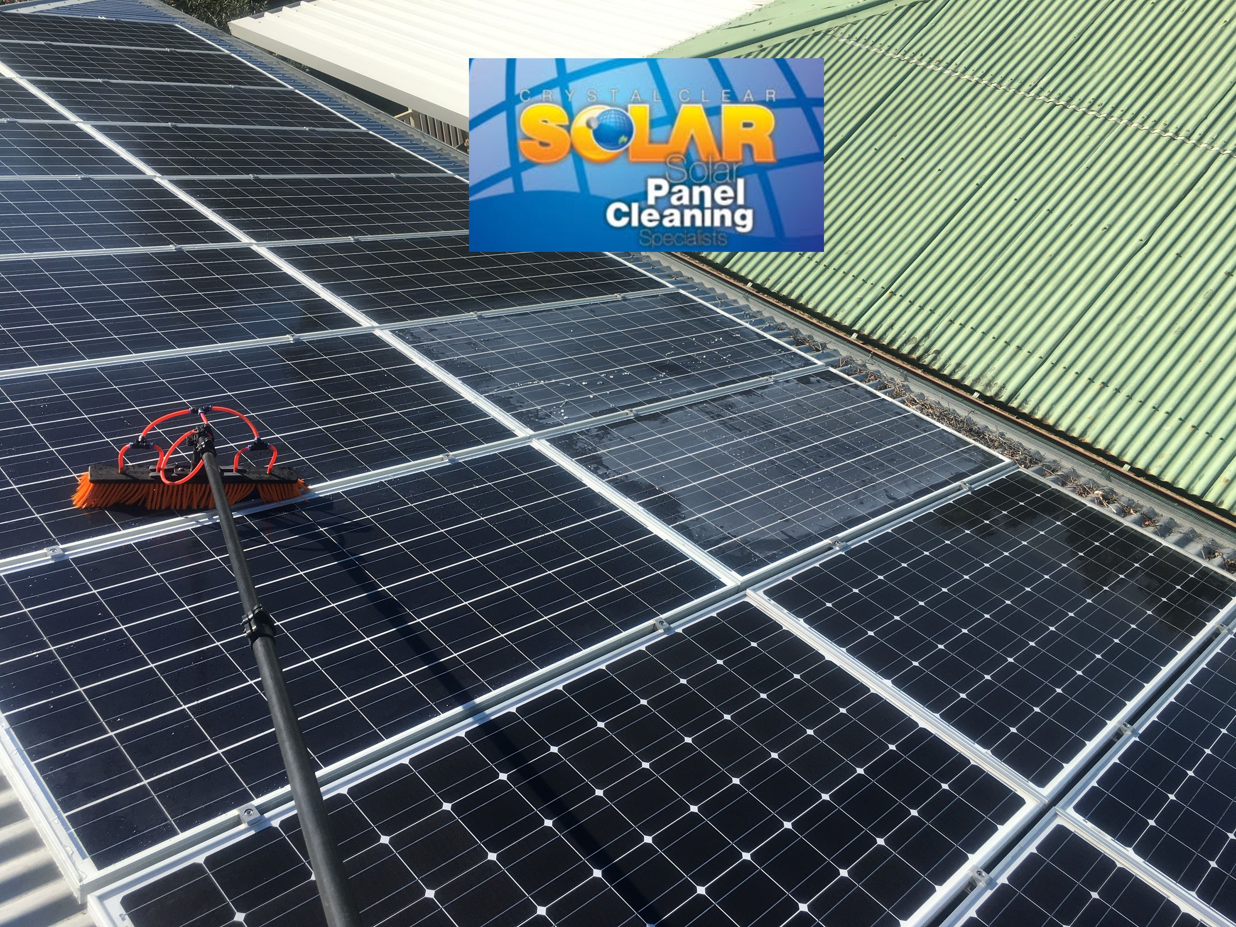 Pin By Crystal Clear Solar On Panel Cleaning Residential Solar Panels Solar Panels Outdoor Decor