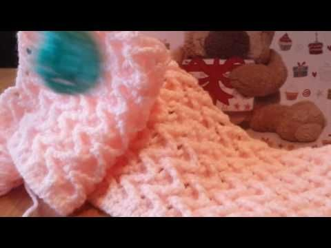 Tunisian Crochet Knit Stitch The Crochet Side Youtube Pizza