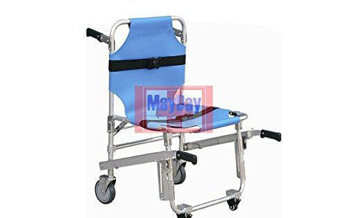 emergency stair chair. Emergency Folding Rescue Stair Chair Stretcher Blue Color 191-015B 191-MAYDAY I