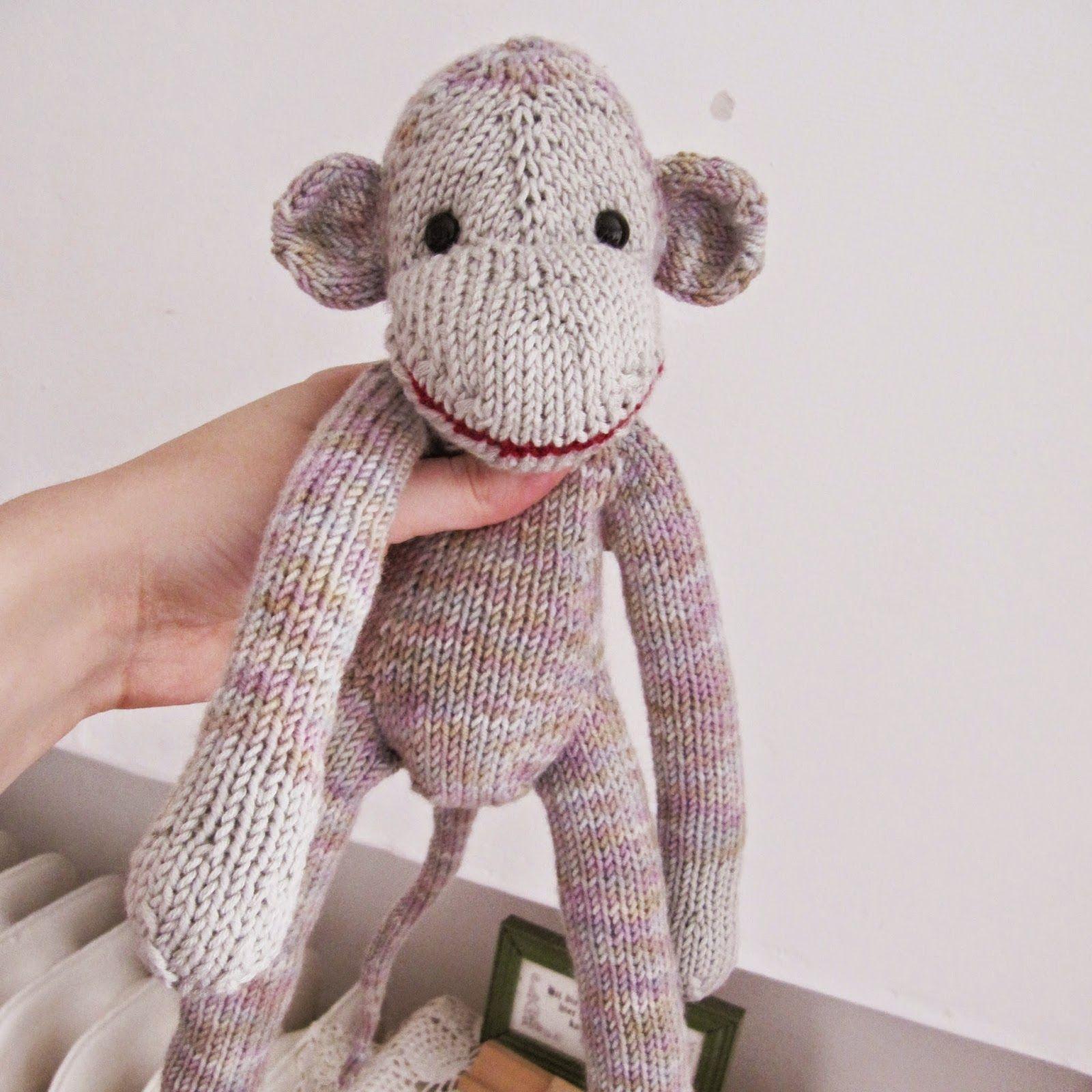 Jacobus the knitted monkey | Обезьянки | Pinterest | Monkey ...