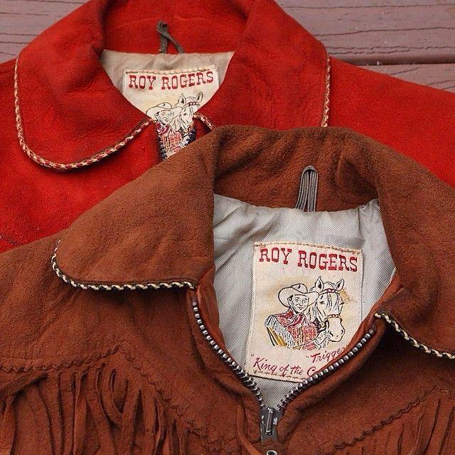 Vintage 1950s Roy Rogers western cowboy kids jacket  ae62d8768