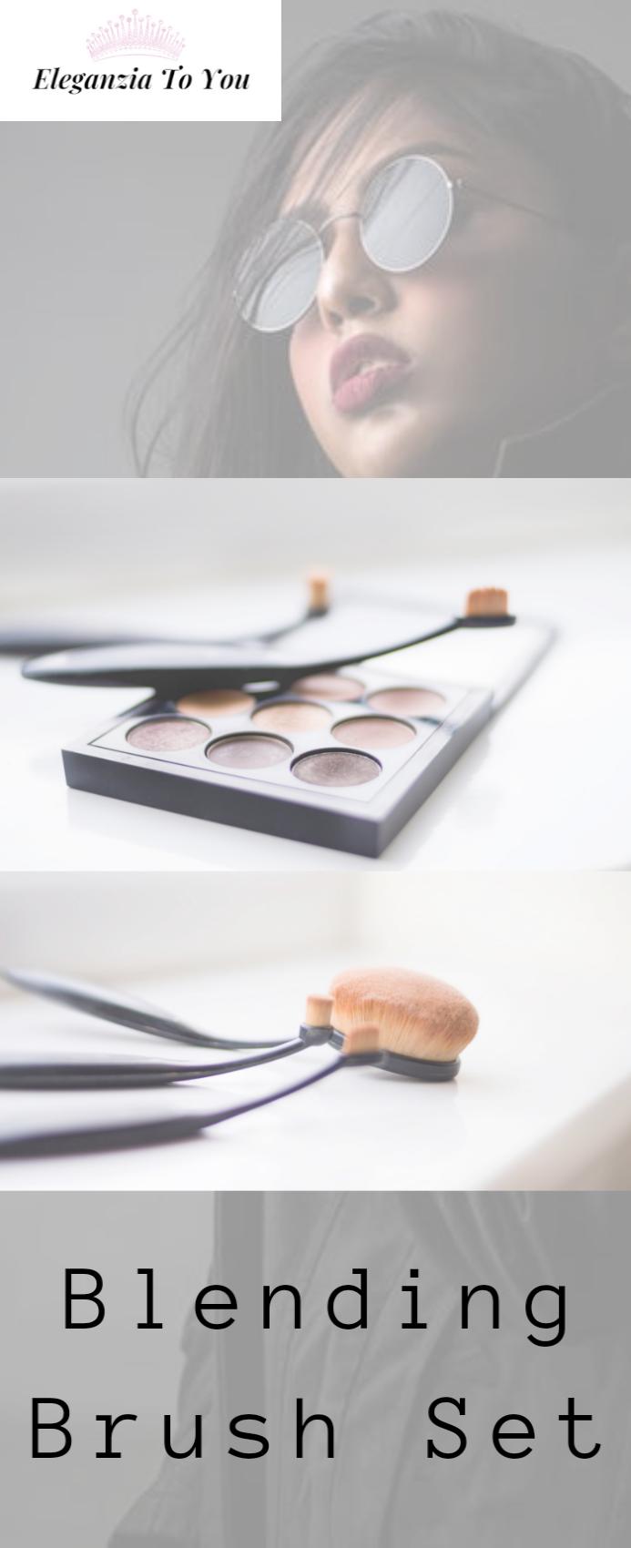 Photo of CINIDY Makeup Brushes Set 11pcs 3D Mermaid Makeup Brush Cosmetic Brushes Eyeshadow Eyeliner Blush Brushes – Eye Makeup Blog