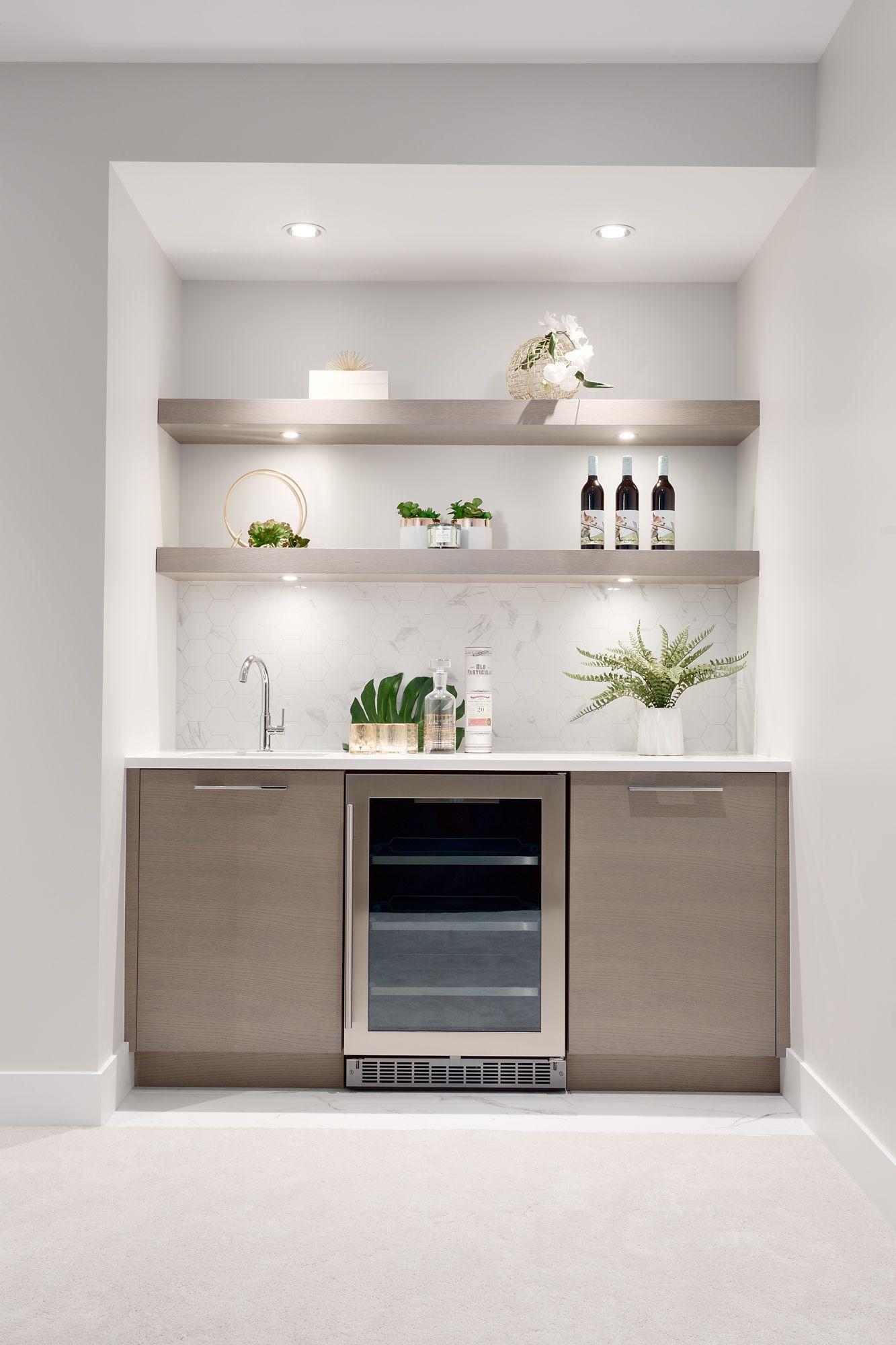 Capilano Highlands Modern Wet Bar Modern Kitchen Bar Modern Home Bar Home Wet Bar