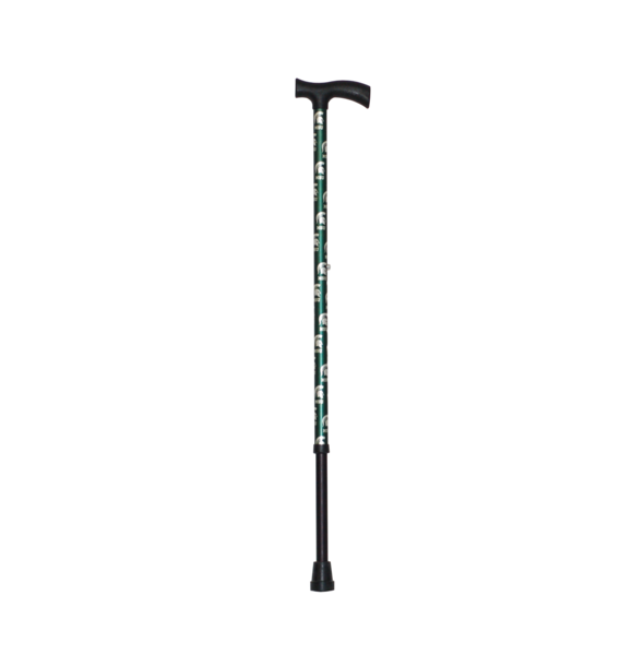 Michigan State Spartans walking cane | College Canes. Aluminum adjustable cane. Made in the U.S.A. Premium Walking Stick #walkingcane #Spartan #MichiganState