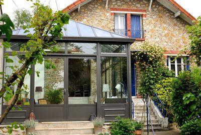 Veranda Jade Trois Portes En Aluminium Couleur Collection