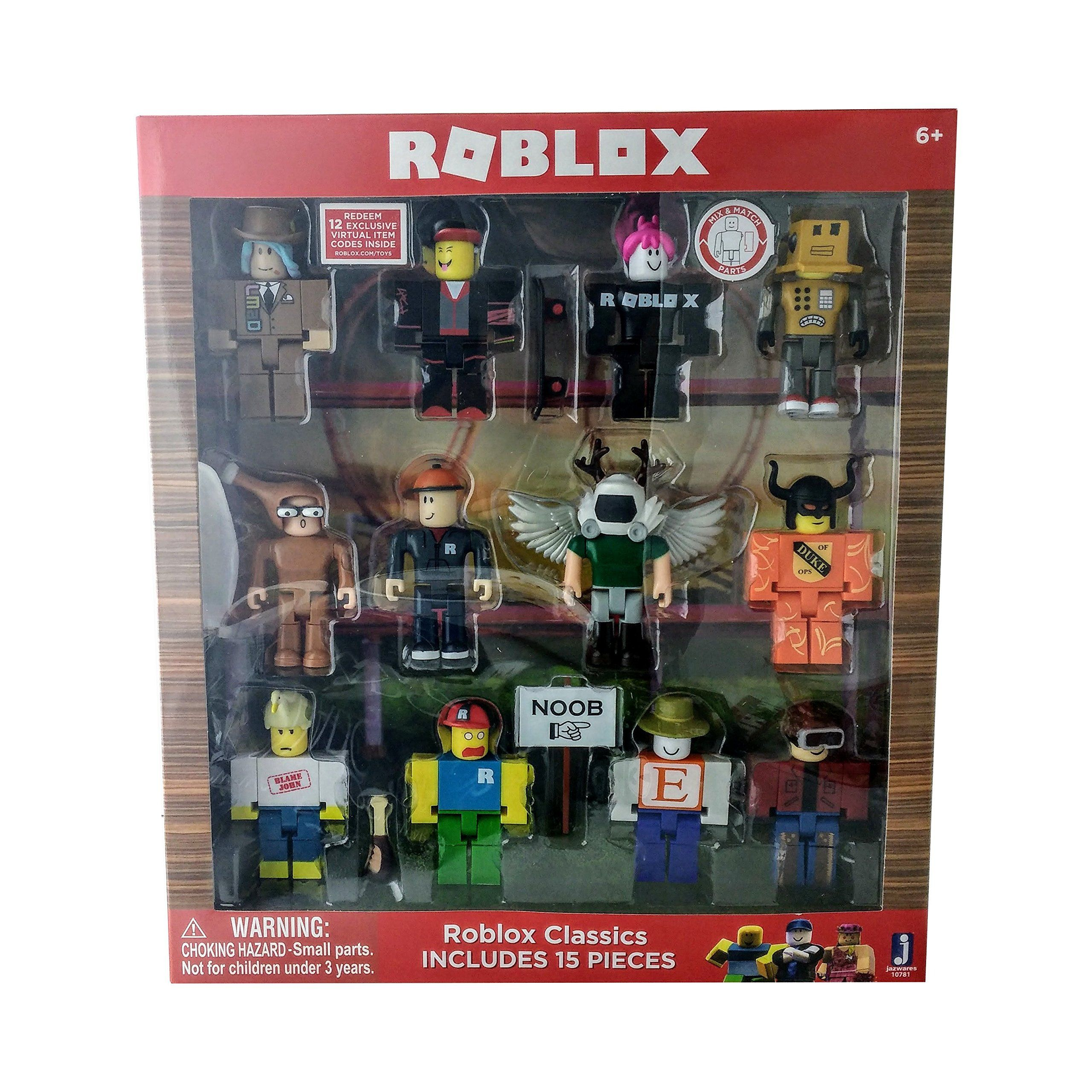 no code weapon ROBLOX game Series 1 Erik Cassel Robot Figure toy Xmas gift