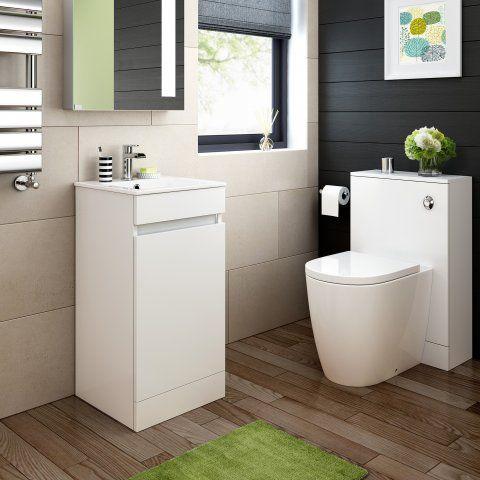 Florence Toilet & 400mm Trent Basin Cabinet    Soak.com