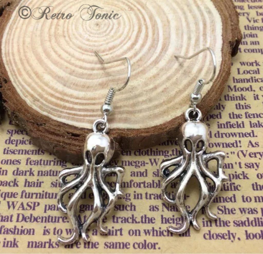 Octopus Earrings!