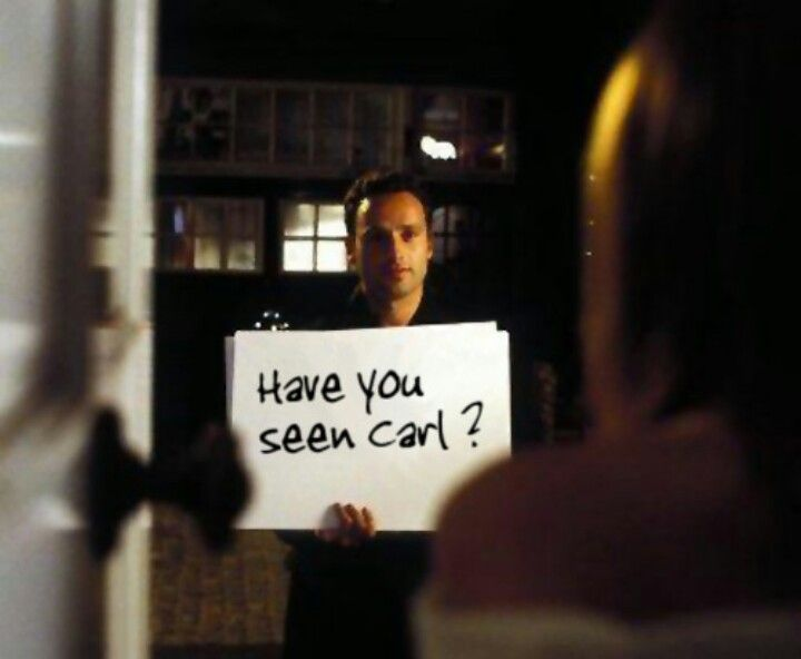 Love Actually Where's Carl