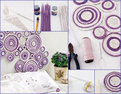trabajos manuales reciclados madres decoracion Pinterest - trabajos manuales
