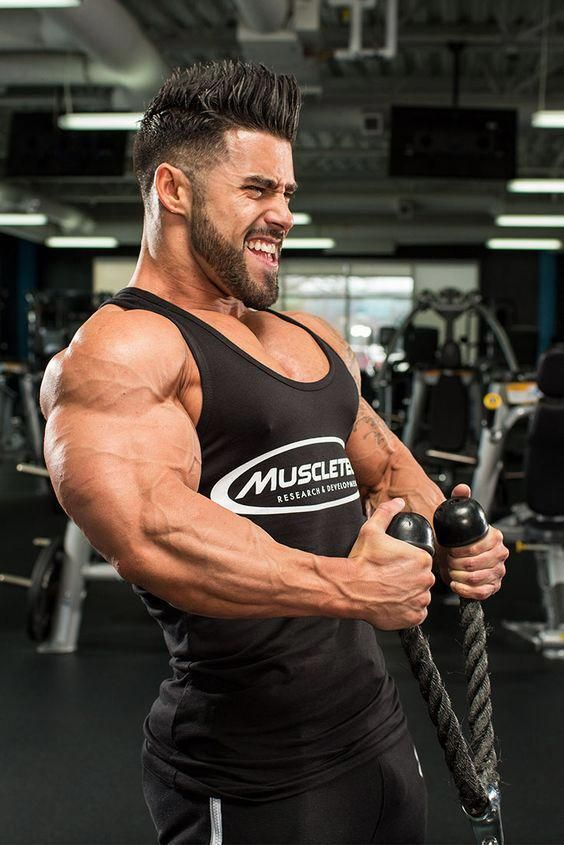 Pair your biceps and triceps exercises to generate more force and more muscle growth on arm day. The...