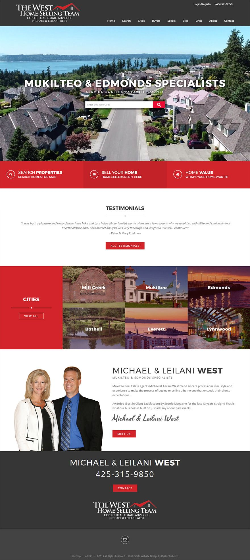 Washington North Of Seattle Washington Michael And Leilani West Serve South Snohomish County Real Real Estate Website Real Estate Marketing Realtor Websites
