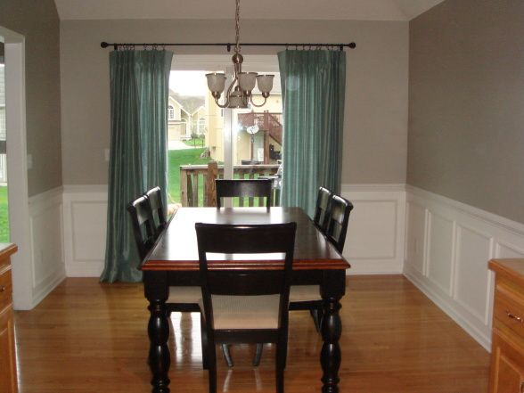 Wainscoting  Dining Room  I Want The Wainscoting To Be Higher On Simple Wainscoting For Dining Room Design Decoration