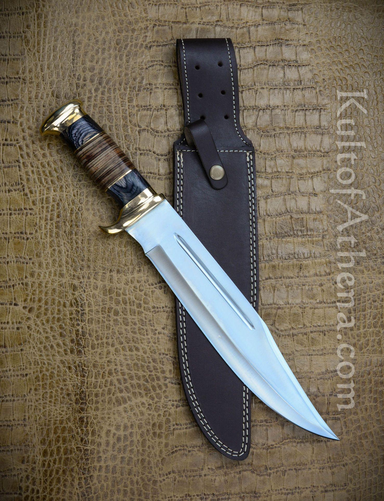 devils knives devils edge the frontiersman friend bowie knife