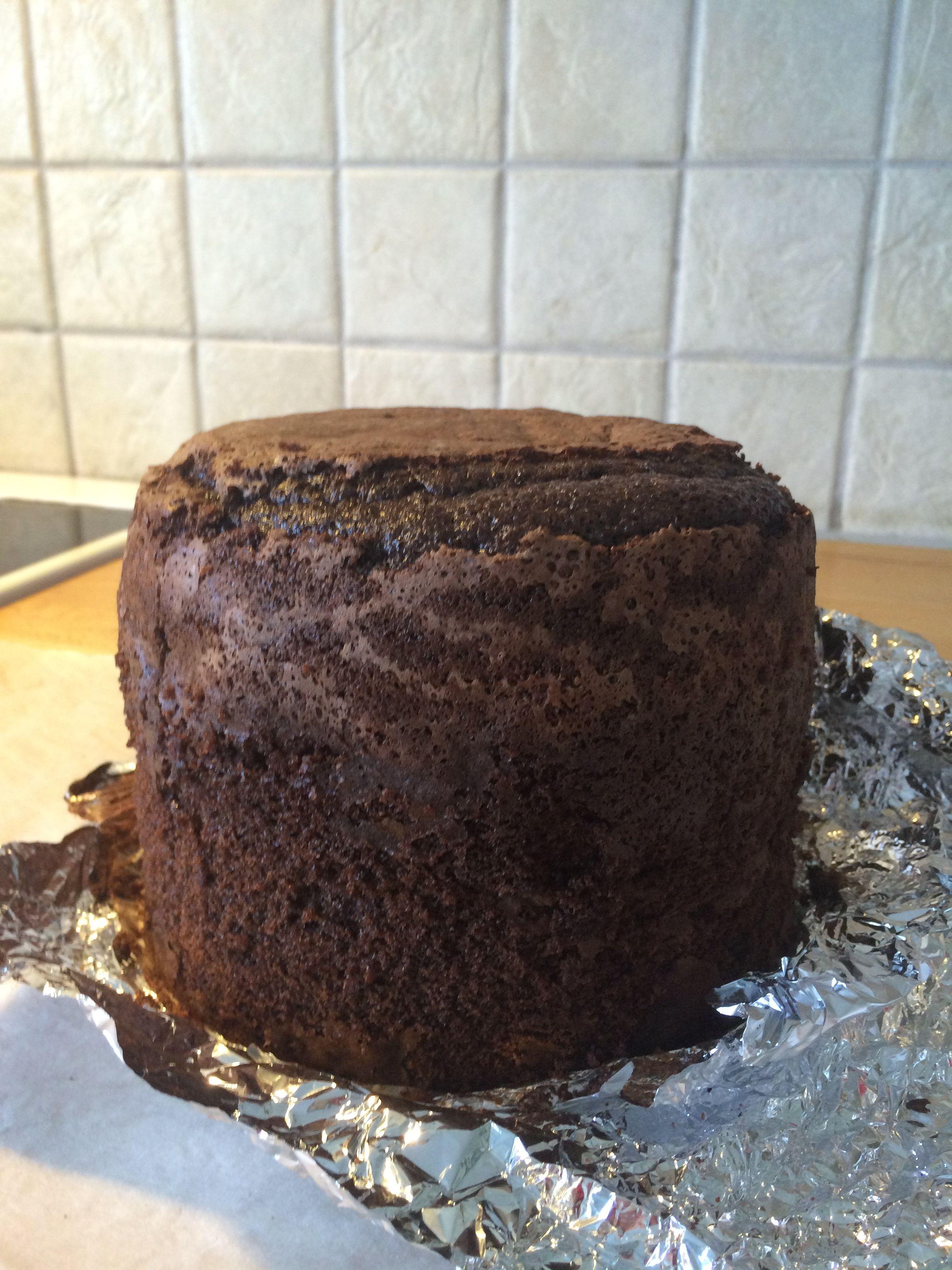 tårtbotten choklad hög
