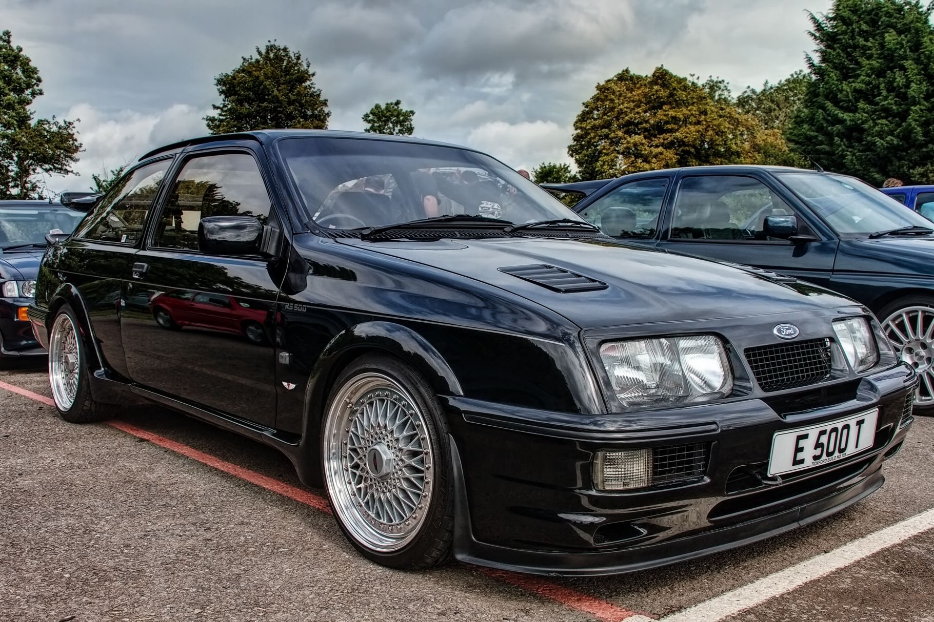 Ford Auto Cool Image Ford Sierra Car Ford Classic Cars