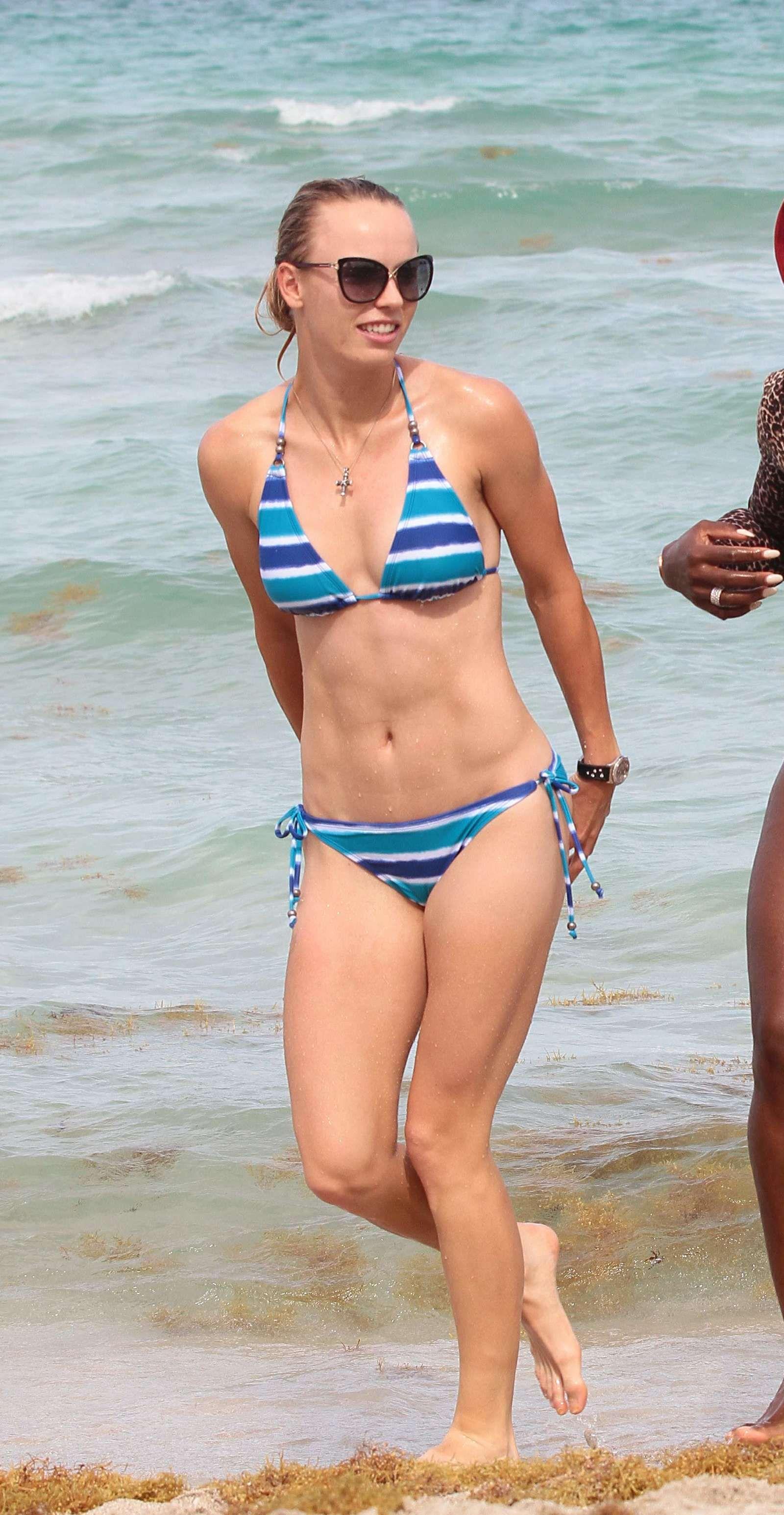 Serena williams string bikini