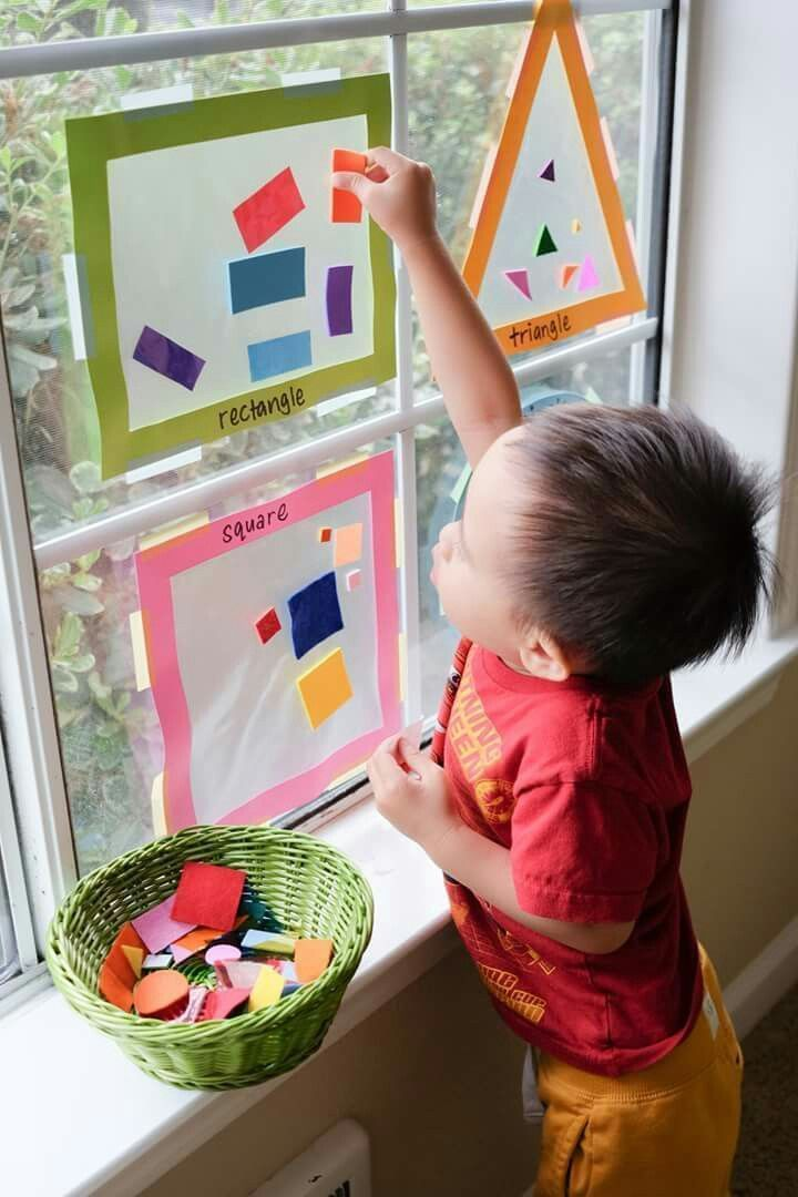 Photo of Window sticker shape adjustment – fun before s … – #activities #adjustment # …