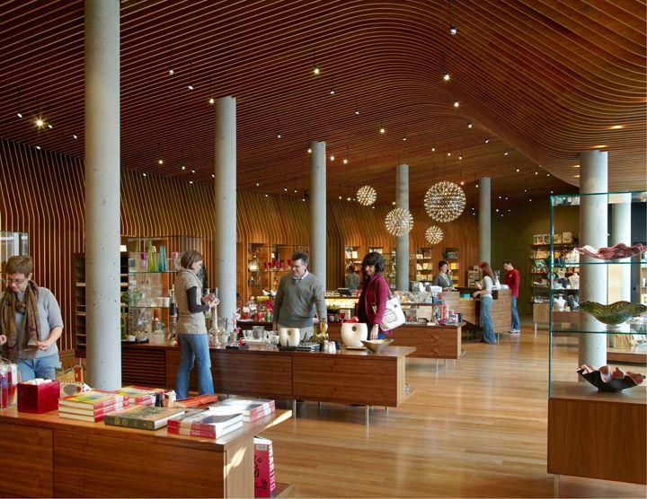 Crystal Bridges Museum store by Marlon Blackwell Architect, Bentonville