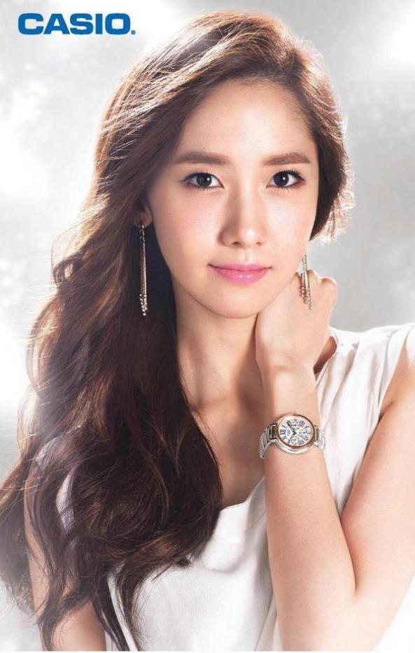 صور L تايون تيفاني و يونا الترويجية لساعات Casio Baby G Yoona Snsd Yoona Model