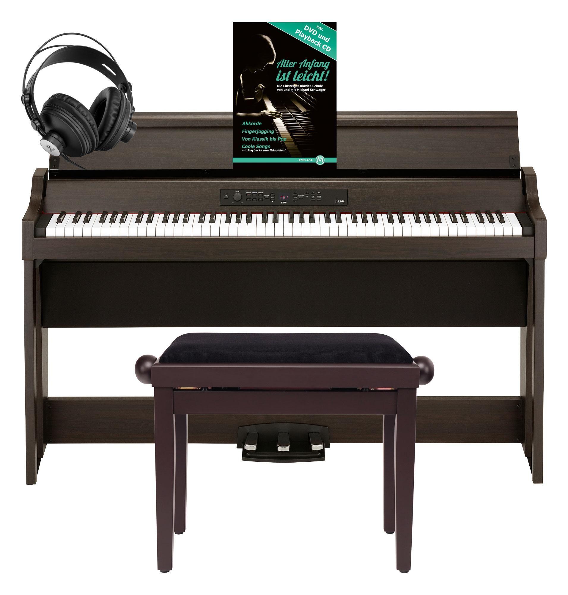G1 Air BR Digitalpiano Braun Konzertflügel