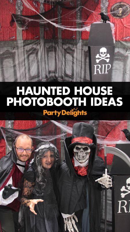 Haunted House Photo Booth Ideas Halloween photos, Spooky halloween - scary halloween ideas