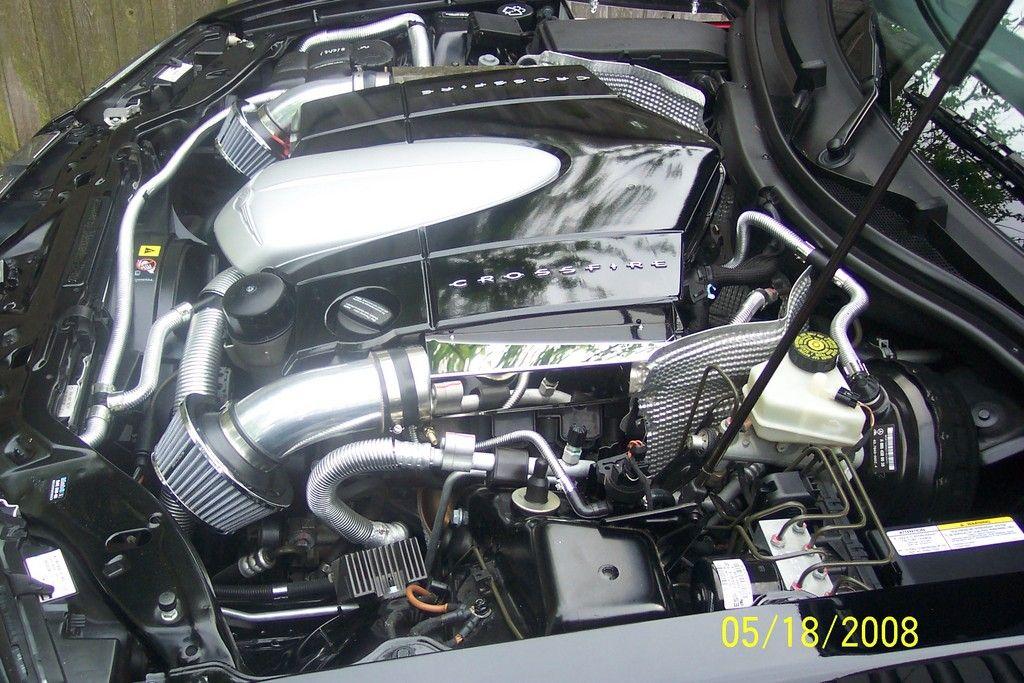 Chrysler Crossfire engine 7 Chrysler crossfire