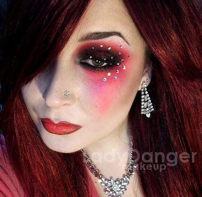 Moulin Rouge Makeup Rouge Makeup Makeup Fantasy Makeup