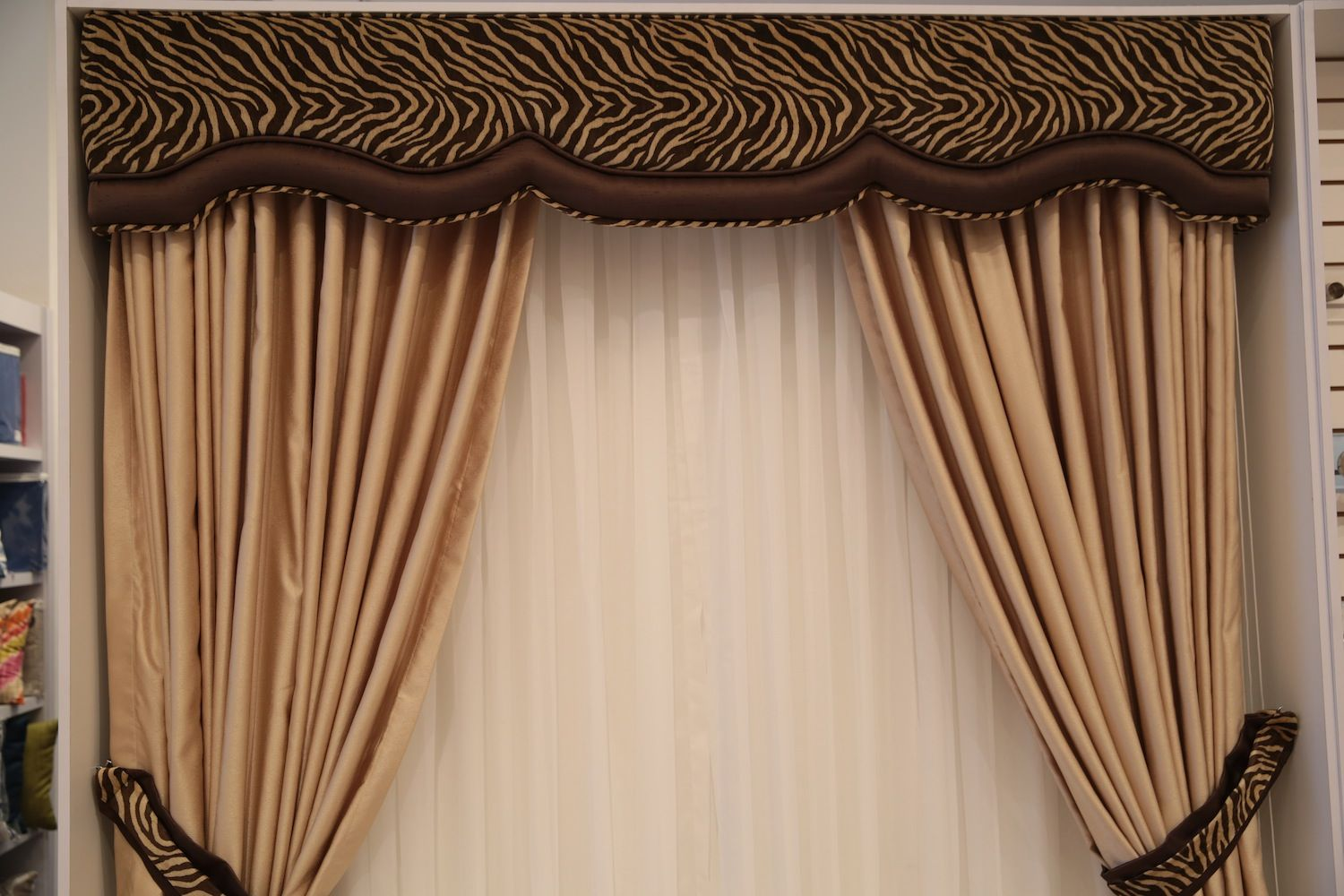 Cortinas Cenefa Window Treatments Home Decor Curtains