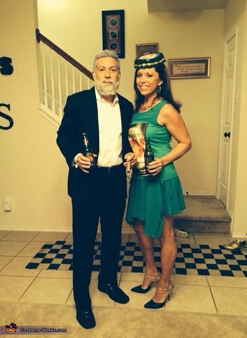 Most Interesting Man And Dos Equis Bottle Halloween