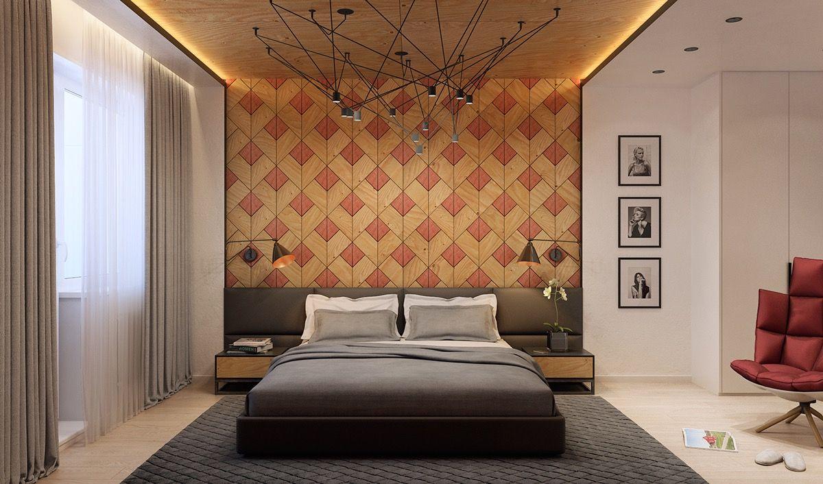 20 unique bedroom designs with wood walls   unique bedroom