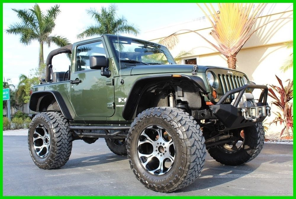 Ebay 2007 Jeep Wrangler X 2007 Custom Jeep Wrangler Lifted 38 Tires Winch Metal Bumpers Tons Of Extra 2007 Jeep Wrangler Custom Jeep Wrangler Jeep Wrangler X