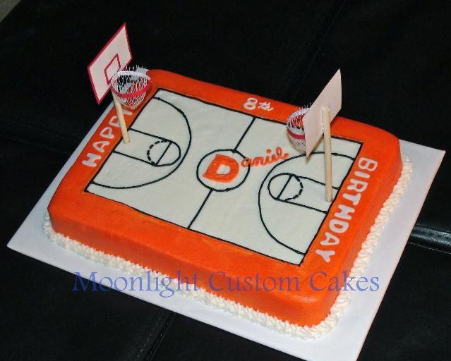 Miraculous Basketball Court Cake Different Color Though With Images Funny Birthday Cards Online Kookostrdamsfinfo